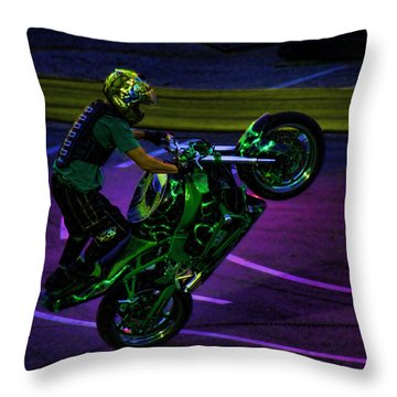 Stunting 2 Throw Pillow