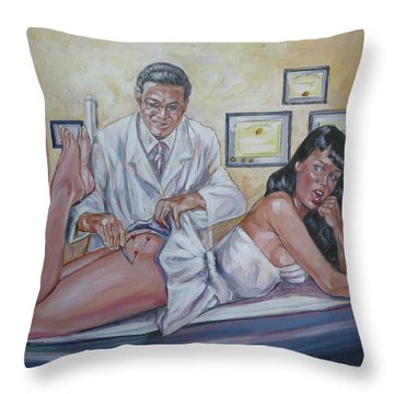 Stupid Cupid Throw Pillow