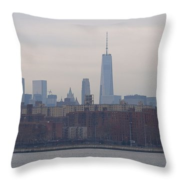 Stuy Town Throw Pillow