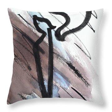Stylish Kuf Ku6 Throw Pillow
