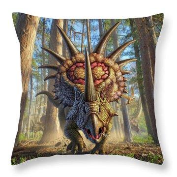 Styracon'roll Throw Pillow