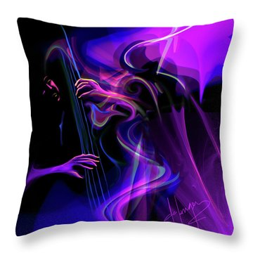 Sub Space Thunder, The Man With 6 Fingers Throw Pillow