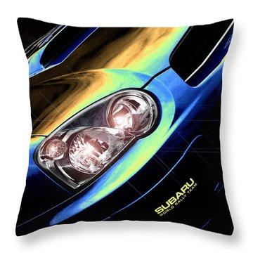 Subaru Impreza  Throw Pillow
