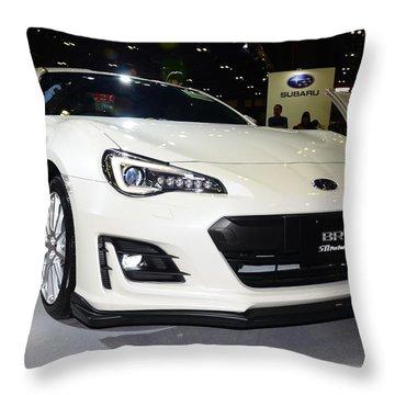 Subaru Brz Throw Pillow
