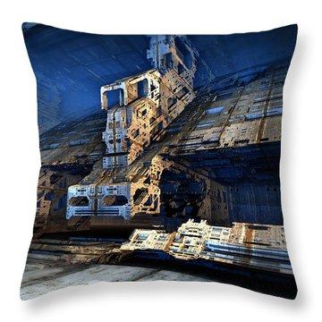 Sublevel Thirteen Throw Pillow