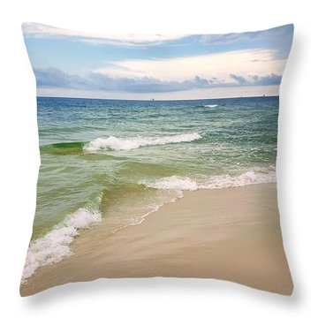 Sublime Seashore  Throw Pillow