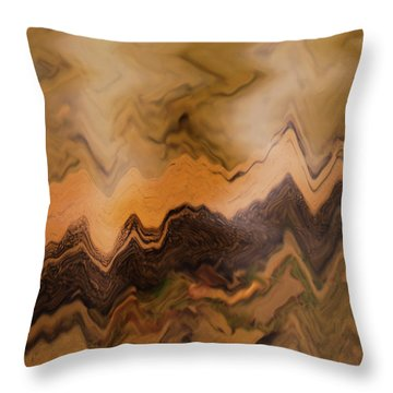 Throw Pillow featuring the photograph Submerged Railroad Tie by Dennis Dame