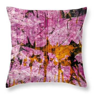 Submit A Dance   Throw Pillow by Fania Simon