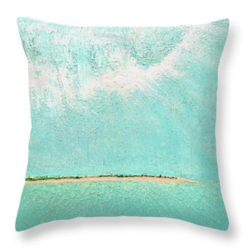 Subtle Atmosphere Throw Pillow