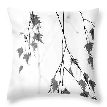 Throw Pillow featuring the photograph Subtle by Rebecca Cozart