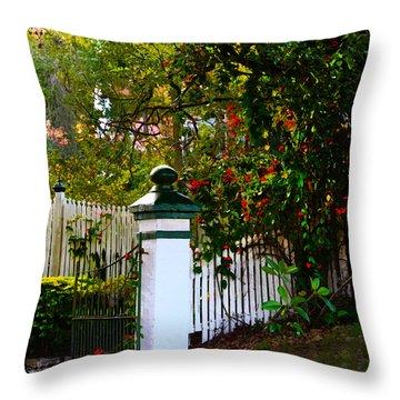 Subtropical Queensland Throw Pillow