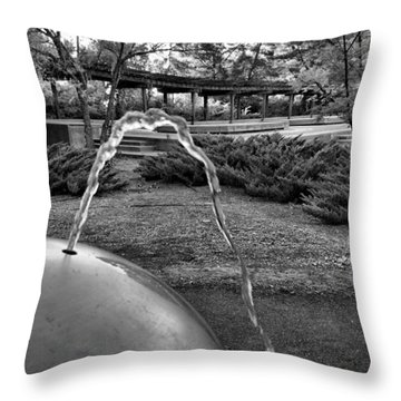 Suburban Thirst Quencher Throw Pillow