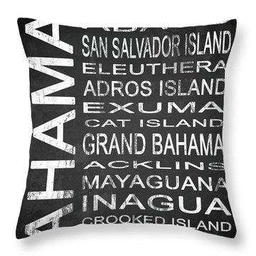 Eleuthera Art Throw Pillows