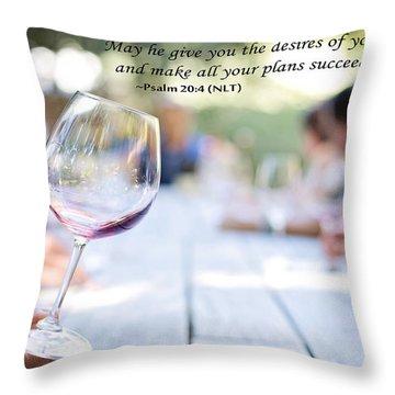 Success Throw Pillow by Allen Beilschmidt