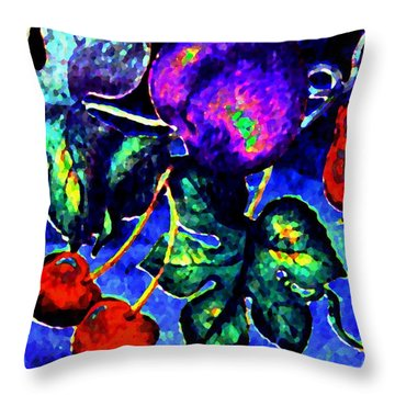 Succulence Throw Pillow by Will Borden