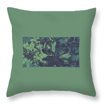 Succulents #2 Throw Pillow