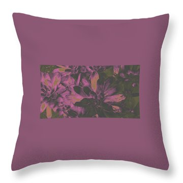 Succulents #3 Throw Pillow