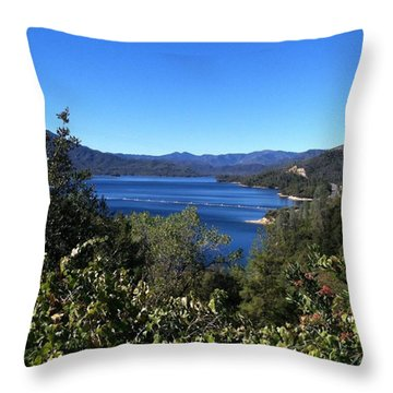 Such A Beautiful Fall Day In Throw Pillow