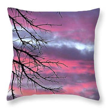 Such A #gorgeous #pink #texas Throw Pillow