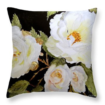 Such Love In A Flower  Throw Pillow