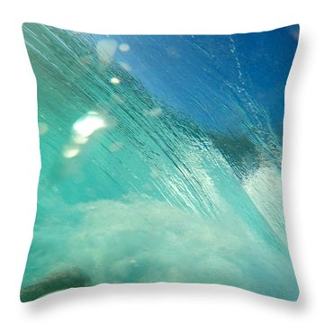 Sucked Over Throw Pillow