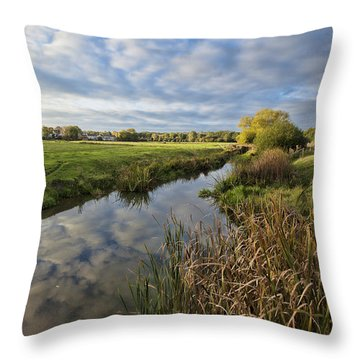 Sudbury River Throw Pillow