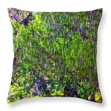 Sudden Downpour Throw Pillow