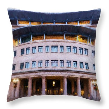 Suffolk Law School Throw Pillow
