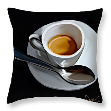 Sugar And Cream Throw Pillow