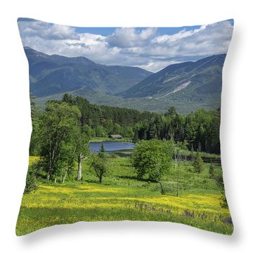 Sugar Hill Springtime Throw Pillow