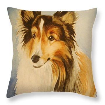 Sugar Throw Pillow by Marilyn Jacobson