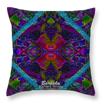Throw Pillow featuring the photograph Sugarapsa by Barbara Tristan