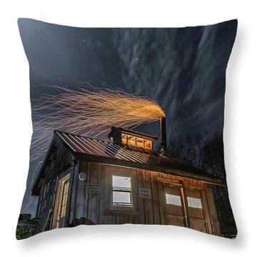 Sugarhouse 2017 Throw Pillow