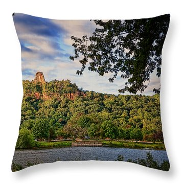Sugarloaf II Throw Pillow