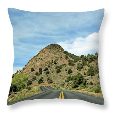 Throw Pillow featuring the photograph Sugarloaf Mountain In Six Mile Canyon by Benanne Stiens