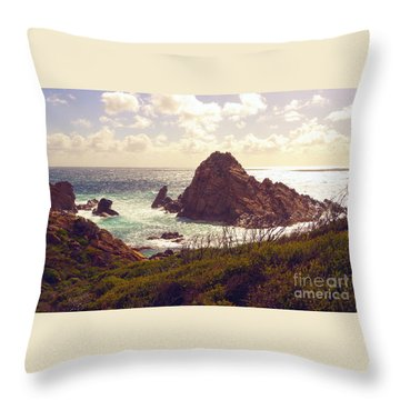 Sugarloaf Rock Ix Throw Pillow