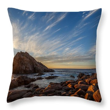 Sugarloaf Rock  Throw Pillow