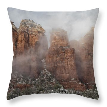 Sugarloaf Trail  Throw Pillow