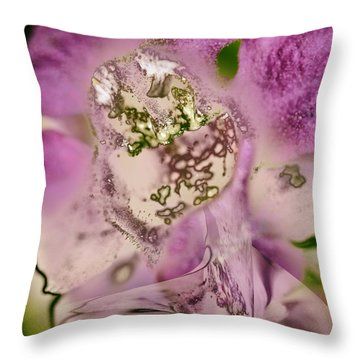 Sugar....sweetie Throw Pillow