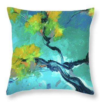 Suggestioni Orientali Throw Pillow by Alessandro Andreuccetti