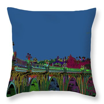 Suicide Bridge 2017 Let Us Hope To Find Hope Throw Pillow