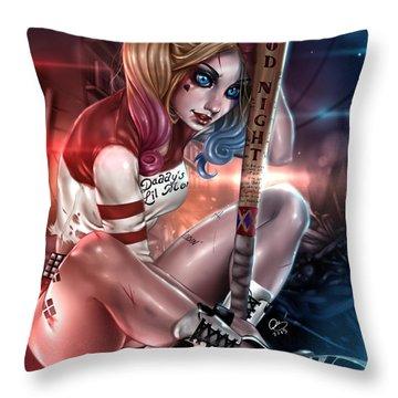 Harley Quinn Throw Pillows