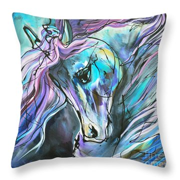 Suits Me To Swim Throw Pillow