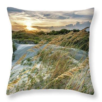 Sullivan's Island Dunes Throw Pillow