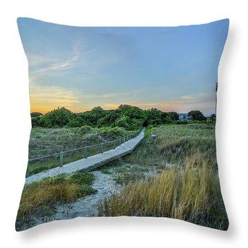 Sullivan's Island Evening Throw Pillow