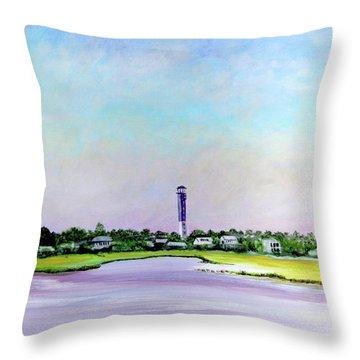 Sullivans Island Lighthouse Throw Pillow