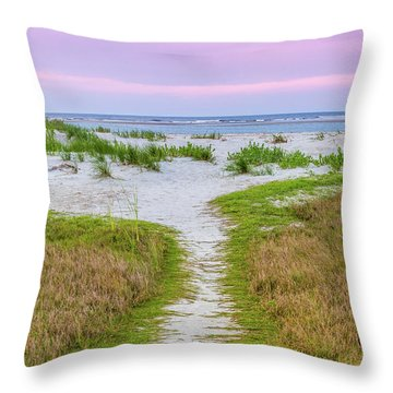 Sullivan's Island Natural Beauty Throw Pillow