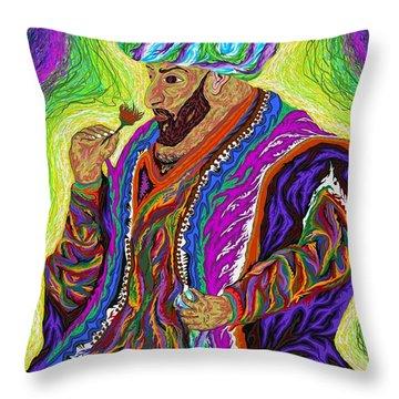 Sultan 2000 Throw Pillow by Robert SORENSEN