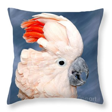 Sultan Throw Pillow by Debbie Stahre