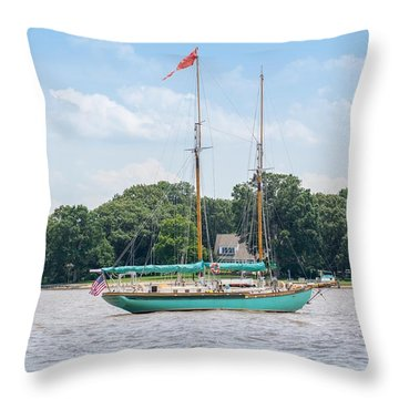Sultana On The Chester Throw Pillow